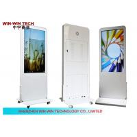 """China 47"""" Four Wheels LCD Advertising Digital Signage wholesale"""