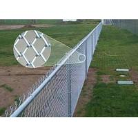China Standard Metal galvanised chain link fencing 1.2M X 50M 2.5mm Thickness wholesale