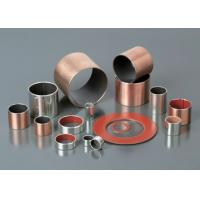 China Multilayer Composite Self Lubricating Bearings Low Carbon Steel + Porous Bronze + PTFE wholesale