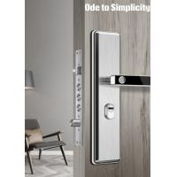 China Anti Theft Semiconductor Fingerprint Door Lock Stainless Steel Material Made wholesale