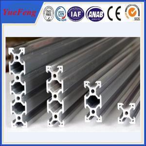 China roller lines industrial extruded aluminium profiles, aluminium t-slot extrusion factory wholesale