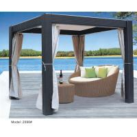 China garden furniture wicker gazebo/canopy-2096 wholesale