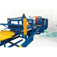 China Rock Wool Sandwich Panel Production Line Roll Forming Machine 250mm Thickness wholesale