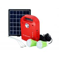 China Mini Portable Solar Power System Kit With Torch USB Output Compact Design wholesale