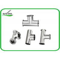 China Equal Straight Reducing Sanitary Pipe Fittings Y Shape Tee Pipe Fittings wholesale