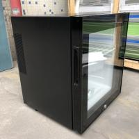 Buy cheap Black Or White Hotel Mini Bar Fridge With Table Top Glass Door / Adjustable from wholesalers
