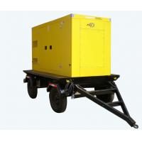 China Yuchai 250KVA Electric Diesel Generator Silent Type With 4 Wheels wholesale