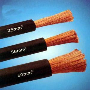 China Super Flexible TPE EPR Rubber 50mm2 70mm2 Copper/CCA Welding Cable wholesale