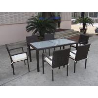 China Supply Cheap Rattan Dining Chair, Outdoor Furniture, Rattan Garden Table,Wicker Dining Set on sale