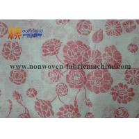 China Printed Wood Pulp Non Woven Fabrics For Household / Industrial Cleaning wholesale