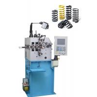 Semi Elliptic Compression Spring Machine 300pcs/Min With 0.85 Kw Cam Axis Servo Motor