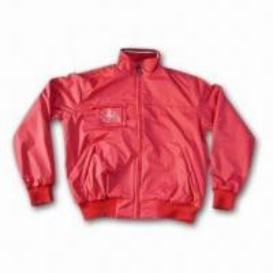 China Men's Jacket with YKK Zipper and Safety Stitch wholesale