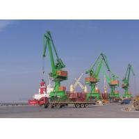 China Level Luffing Portal Mobile Harbour Crane 10 Ton - 120 Ton With ISO FEM JIS Standards wholesale