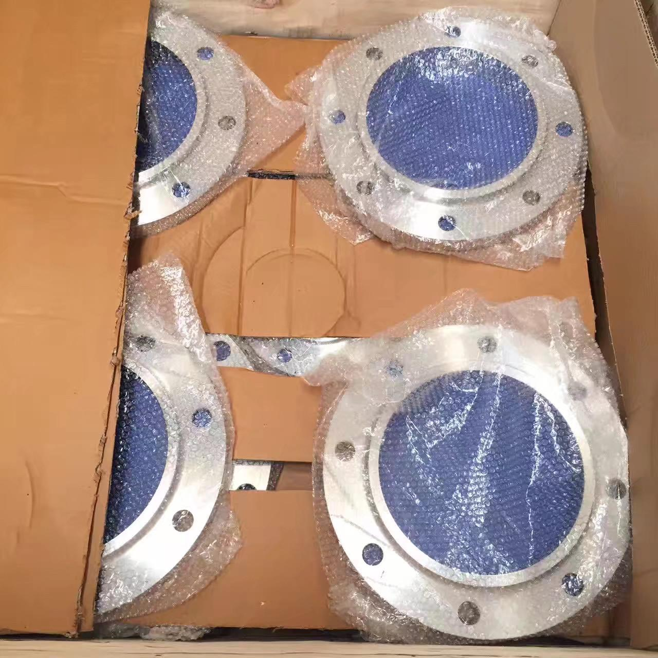 China ASTM A105 ASME B16 5 Forged Steel Flanges S-40 Bore Flat Face Weld Neck Flange wholesale