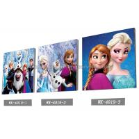 China Custom Frozen Design 3D frameless Plastic Printing Service PET Pictures wholesale