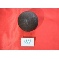 Quality Super Lower break rate High hardness D100mm Hot Rolled Grinding Steel Ball for Mine Dressing Plant / Chemical Industry for sale