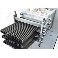 China PA66GF25 PVC Profile Extrusion Line , Polyamide Nylon Strips Extruder For Thermal Barrier wholesale