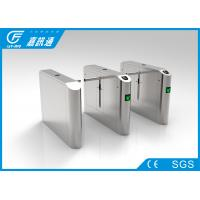 China Entrance And Exit Control One Way Turnstile , Turnstile Biometric Access Control wholesale