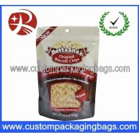 China Round Bottom Gusset Snack Plastic Stand Up Pouches Ziplock Bags on sale