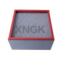 Buy cheap Chemical Industry High Temperature Hepa Filters 99.99 Efficiency SUS Frame from wholesalers