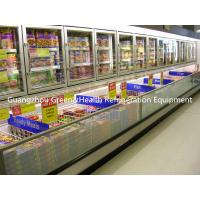 China Stainless Steel Upright Island Combination Freezer -18 Degree Eco Friendly wholesale