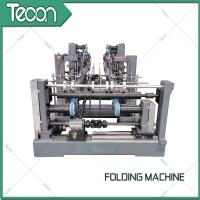 China Automatic Valve Paper Bags Sack Folding Machine For 50Kg Cement Bag wholesale