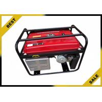 China Overload Protection Gasoline Powered Generator 80 Kg , Gas Powered Portable Generator Air Cooling wholesale