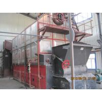 Quality Dual Rear Drum Vertical Spiral Coal Fired Steam Boiler Heating System for sale