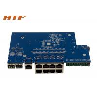 China Managed Gigabit Network Switch Module PCB Board With 8 Port 10/100/1000M + 2SFP Port wholesale