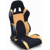 China Modern Adjustable Custom Racing Seats With Rails And Logo , Easy To Install wholesale