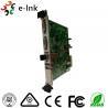 Buy cheap 10G SFP+ Port 5U Rack Card Type 4K 3840*2160/60P DVI Video to Fiber Converter from wholesalers