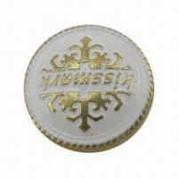 China Eco-friendly Snap Button, Made of Brass, Measuring 17mm wholesale