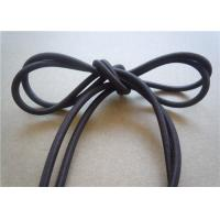 Quality WashableBlack Waxed Cotton Cord 1Mm No Slip Custom For Decoration for sale