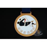 China Round Metal Soft Enamel Swimming Custom Sports Taekwondo Medals Marathon Events Medallion wholesale