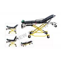China NEW ! Multi - Lever Aluminum Alloy X - frame first aid stretcher chair with 35° Knee Angle wholesale