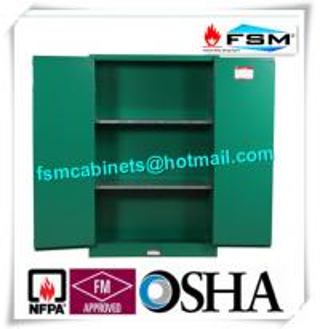 Quality Fireproof 45 Gallon Hazardous Storage Cabinets Adjustable Shelf For Storing for sale
