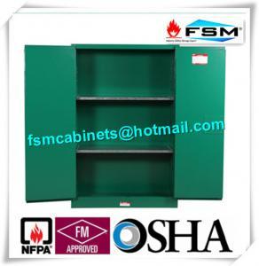 Quality Fireproof 45 Gallon Hazardous Storage Cabinets Adjustable Shelf For Storing Dangerous Goods for sale