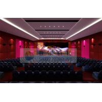 China Luxury Large 4D Theater System With Motion chair / Special Effect System wholesale