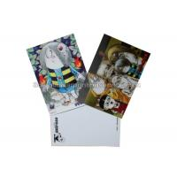 Quality Loverly Cartoon Kids 3D Lenticular Postcard 11x16cm 3d Changing Pictures for sale