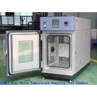 Stainless Steel Benchtop Environmental Chamber , Temperature And Humidity Test Chamber