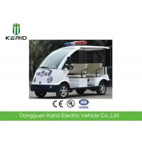 Buy cheap Adults 4 Seater Electric Patrol Car / Electric Club Cart With Alarm Lamp from wholesalers