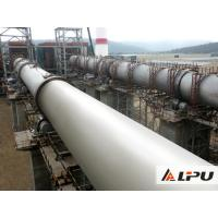 China High Capacity Lime / Limestone Rotary Kiln Equipment In Cement Production Line wholesale
