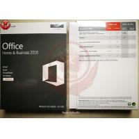 Quality Full Version Genuine Office 2016 Home And Business Retail For Mac ONLY for sale