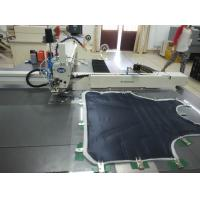 China Auto Template Industrial Grade Sewing Machine Lockstitch For Installing Zipper wholesale
