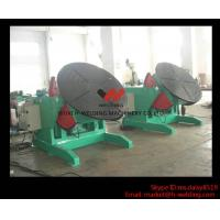 China 5 Ton High Speed Auto Rotary Pipe Welding Turning Table Heavy Duty For Tank / Pipe / Vessel wholesale
