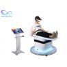 Buy cheap Dynamic Platform Thrilling Roller Coaster Simulator 9D VR Slide from wholesalers
