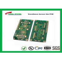 China Hard Drive Bare Quick Turn Printed Circuit Boards With 2l Fr4 Material 0.8mm Flash Gold 1oz wholesale