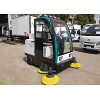 China New Mini Electric Road Sweeper Truck Street Cleaning Aluminum Alloy Frame Work Time 6-8h on sale