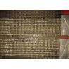 China 4mm × 4mm Teflon Conveyor Belts Fiberglass Mesh Belt For Polyester Nonwoven Materials wholesale
