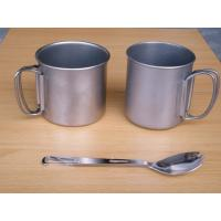 Buy cheap titanium mug from wholesalers